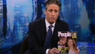 Intro - Brad and Jen Split - 01/11/2005 - Video Clip | The Daily Show with Jon Stewart