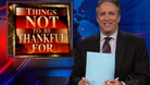 The Daily Show with Jon Stewart: Things Not to Be Thankful For - Silverdome, Goldman Sachs & Congressional Recess - 11/19/2009 - Video Clip | The Dai ...