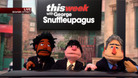 The Daily Show with Jon Stewart: Children\'s Television Chop Shop - This Week With George Snuffleupagus - 10/08/2012 - Video Clip | The Daily Show with J ...