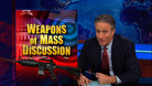 Weapons of Mass Discussion - 01/31/2013 - Video Clip | The Daily Show with Jon Stewart