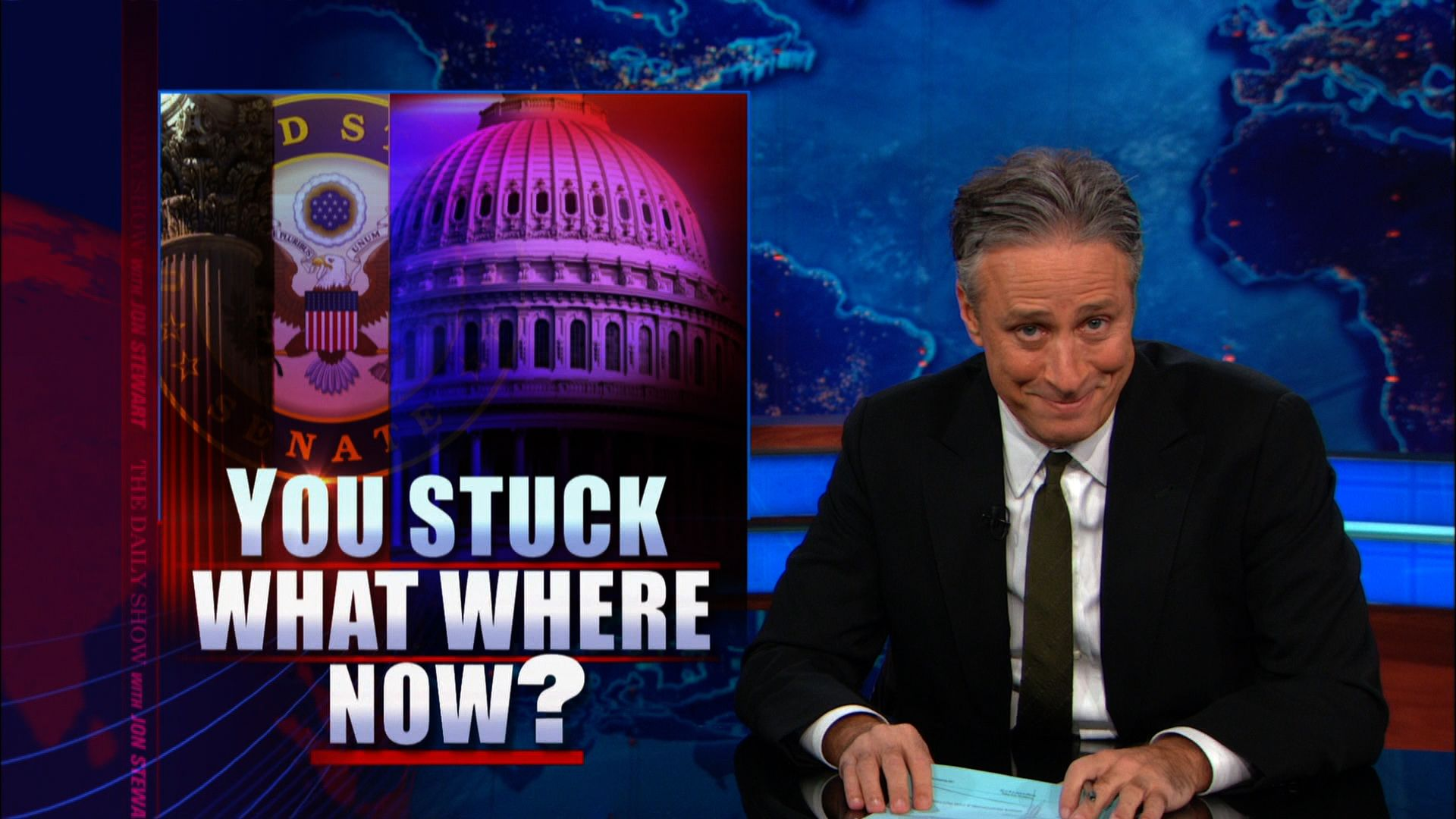 Daily Show: You Stuck What Where Now? - The Monsanto Protection Act