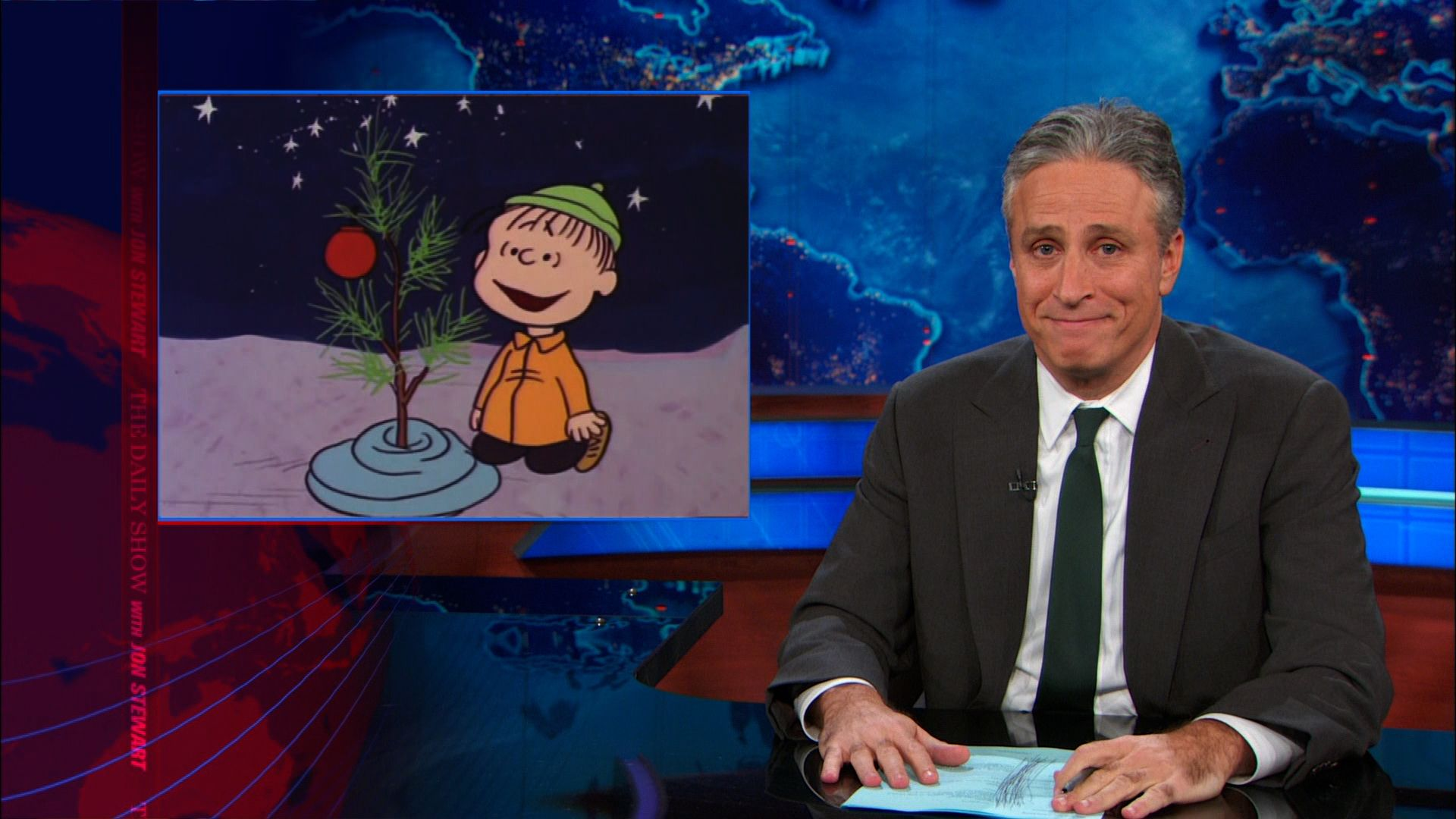 The Immoral Minority: Jon Stewart takes on the faux War on Christmas ...