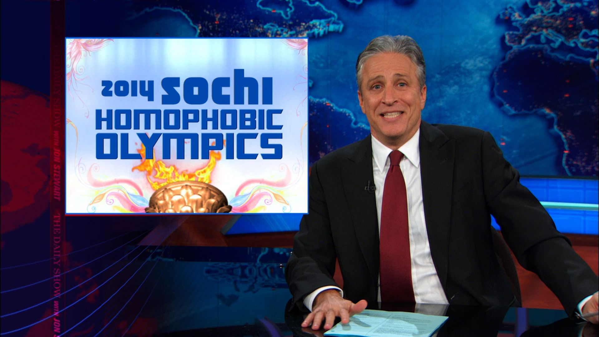 WATCH: The Daily Show Take On Anti